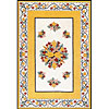 Nejad Rugs Nejad Rugs Bucks County - Tulip 2 X 3 Ivory / yellow Area Rugs